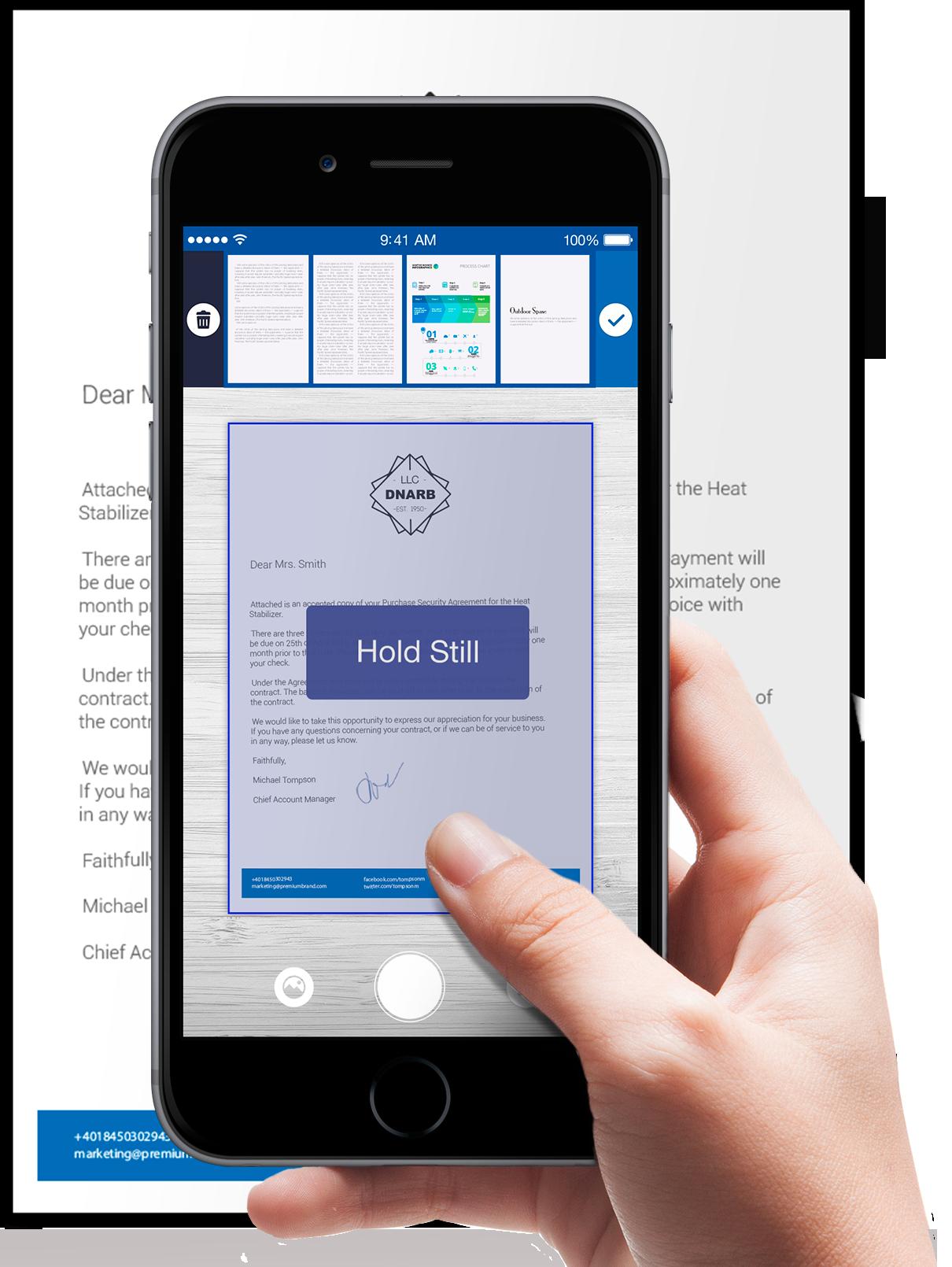 Scanner For Me Document Scanner And Printer Apalon - Invoice scanner app