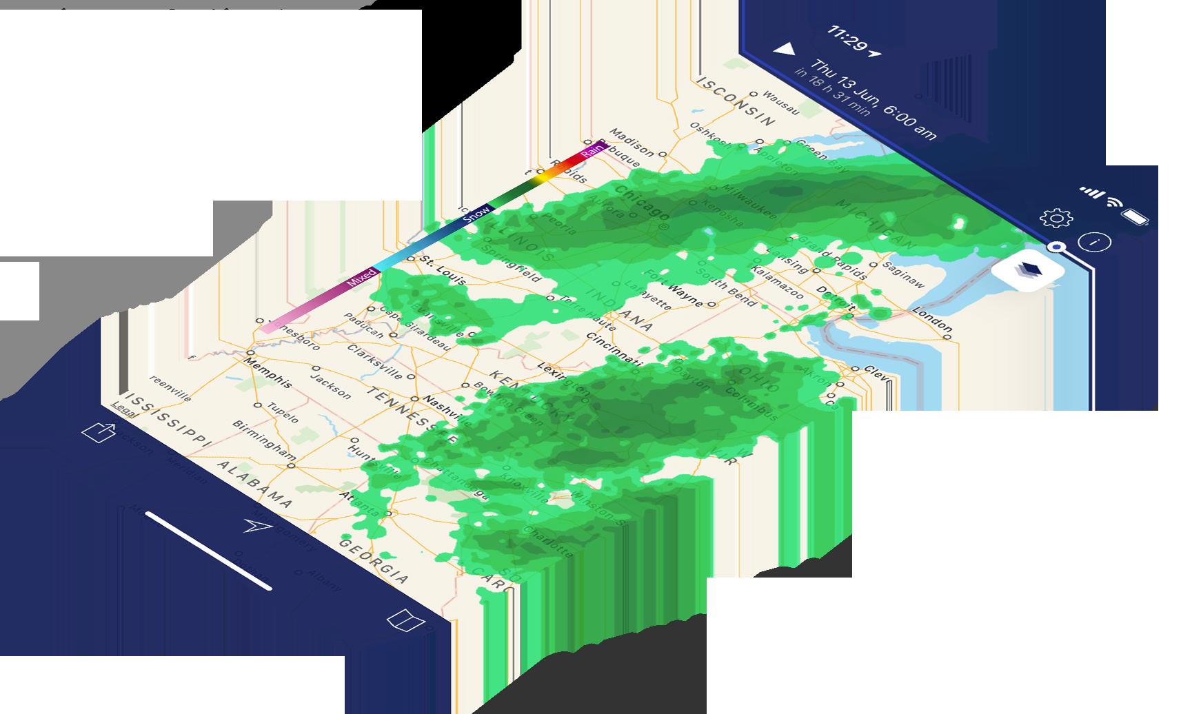 NOAA Weather Radar Live | Apalon