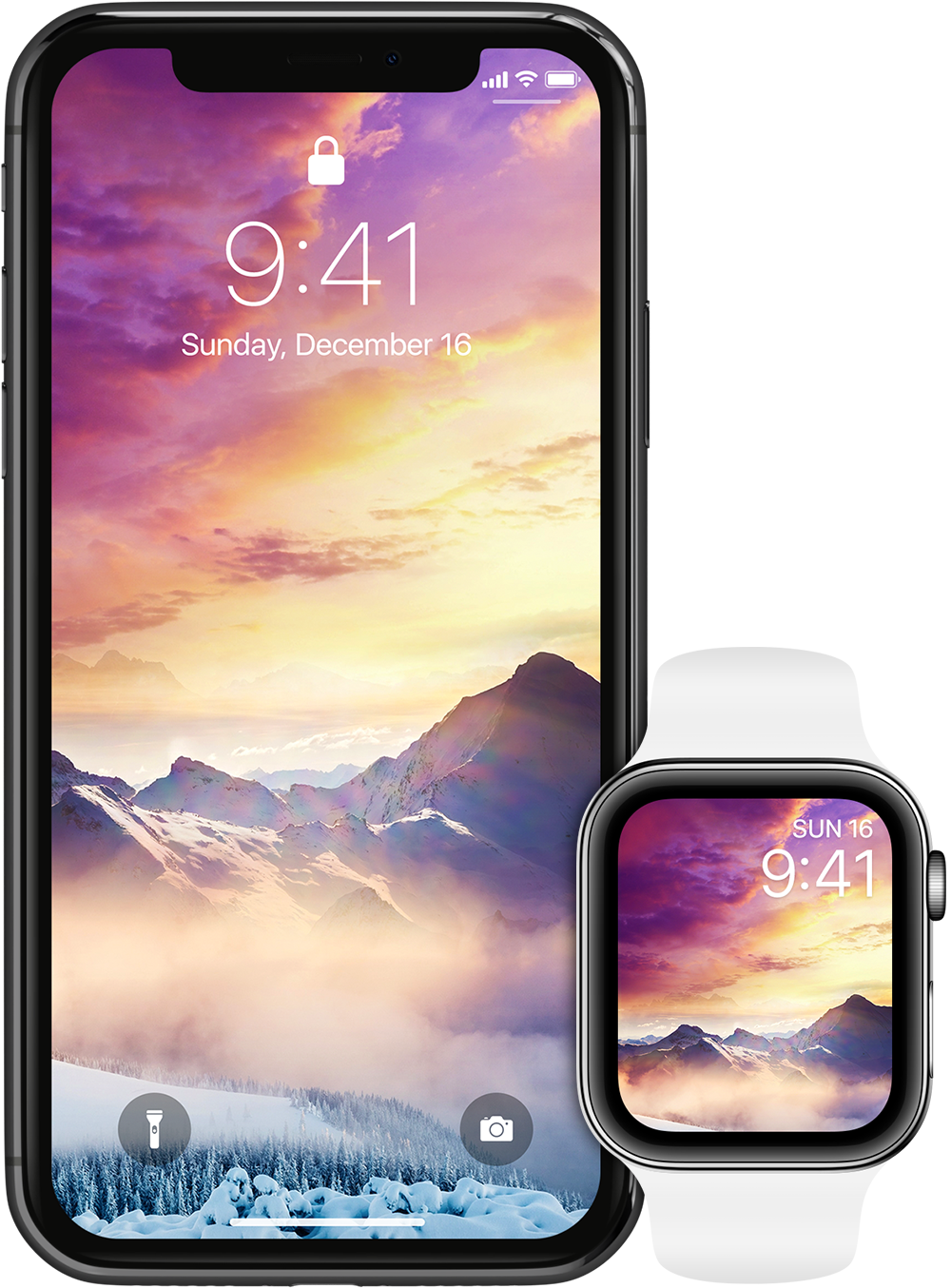 Each theme is a real masterpiece that can't be found anywhere else - just tilt your device to see more! Available on Apple Watch.