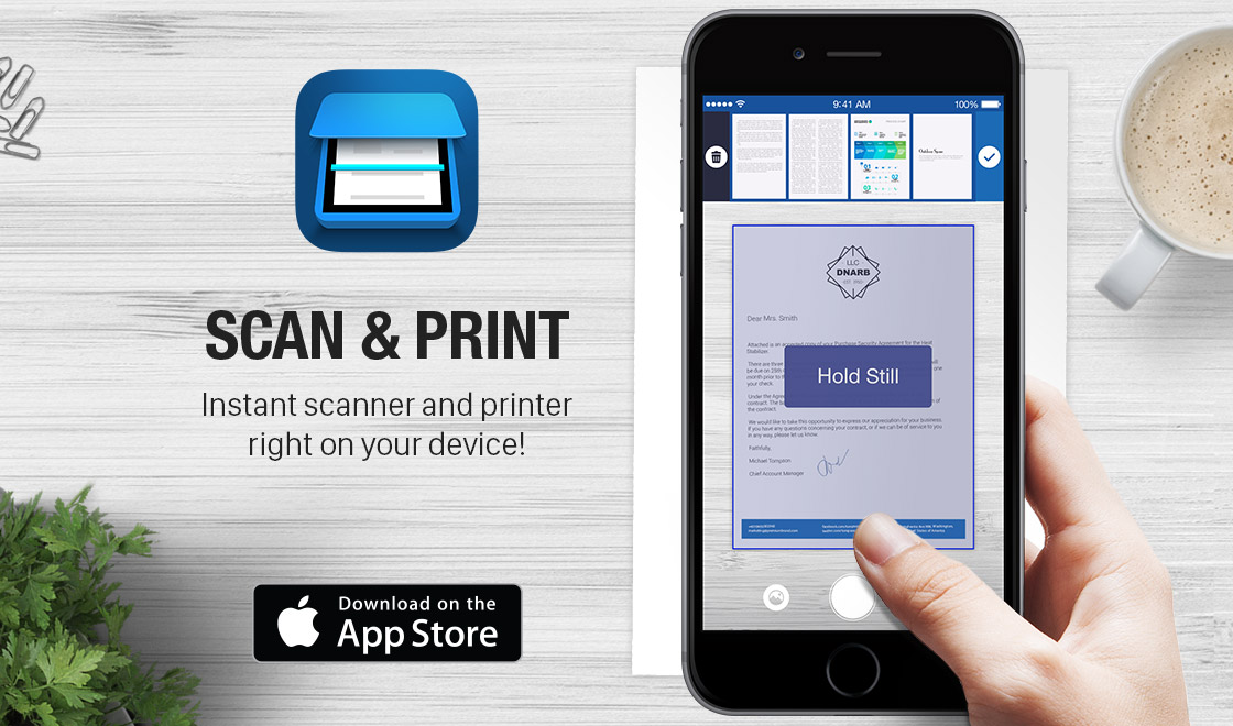 Scan Amp Print Document Scanner And Printer Apalon